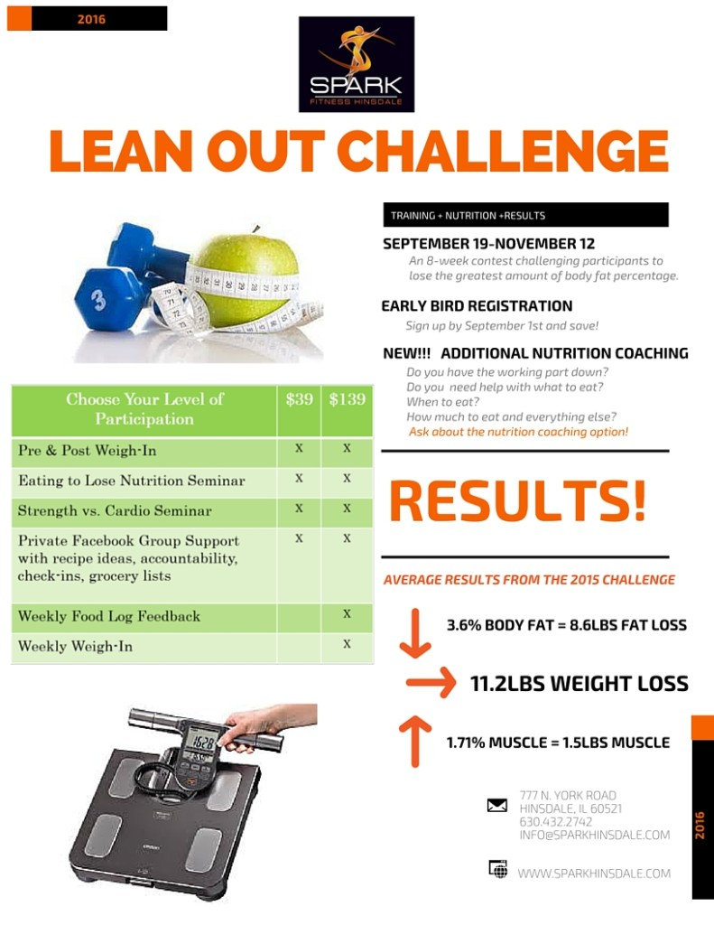 lean out challenge flyer sept 2016
